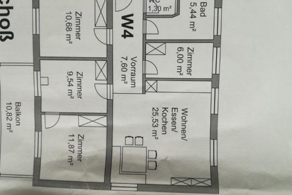 Wohnung zu vermieten 80m²