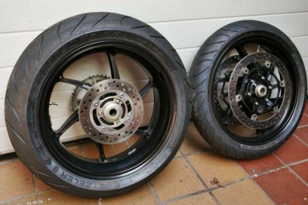 PVM Schmiedefelgen für die Honda SC59
