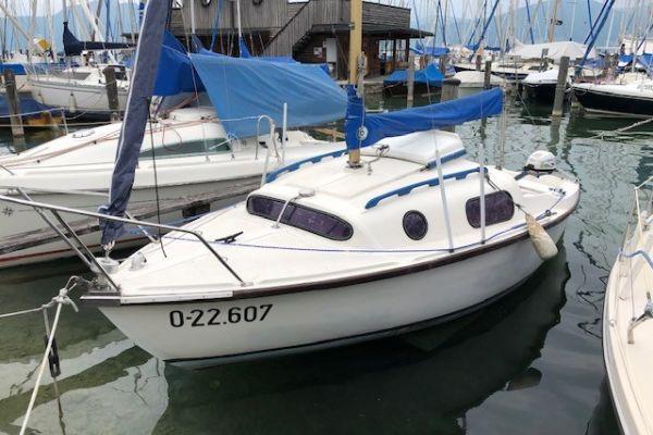 Segelboot Leisure 17, inkl. Hafentrailer