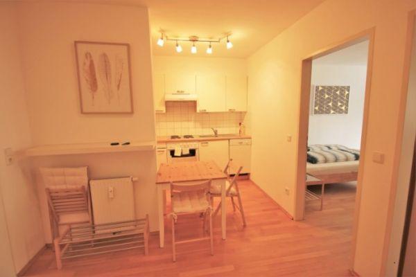 Möblierte 2-Zimmer-Wohnung in Zentrumslage