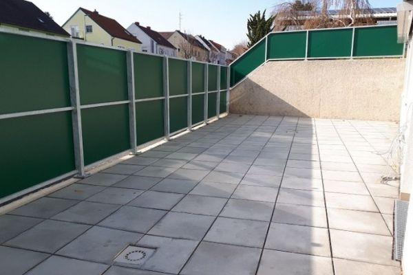 Genossenschaftswohnung mit gr. Terrasse