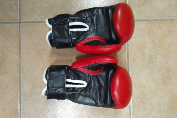 verkaufe Boxhandschuhe Marke TopTen Größe 8