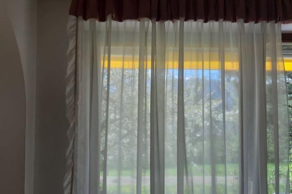 Vorhang - halbtransparent