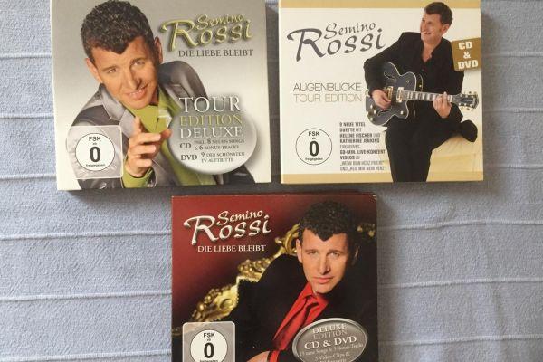 Semino Rossi DVD und CD-Sammlung!