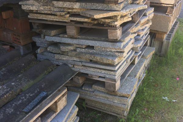 Granit Stein Platten