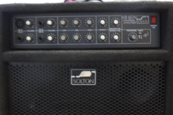 """Instrumenten - Verstärker """"Solton KB 60"""" 60 Watt"""