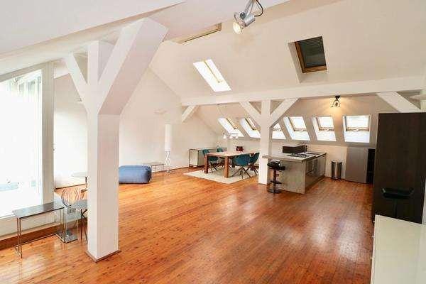 Vollausgestattetes Dachterrassen-Apartment
