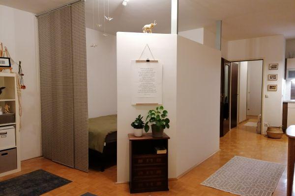 zentrale Wohnung in Linz (48m² - 2 Zimmer) mit Parkplatz