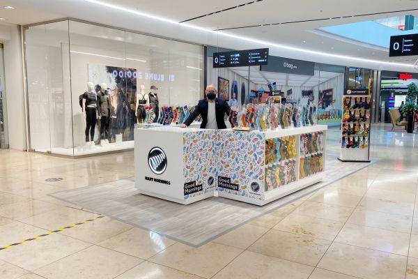 Verkäufer (m/w) für einen Socken Pop Up Store in der SCS Vösendorf