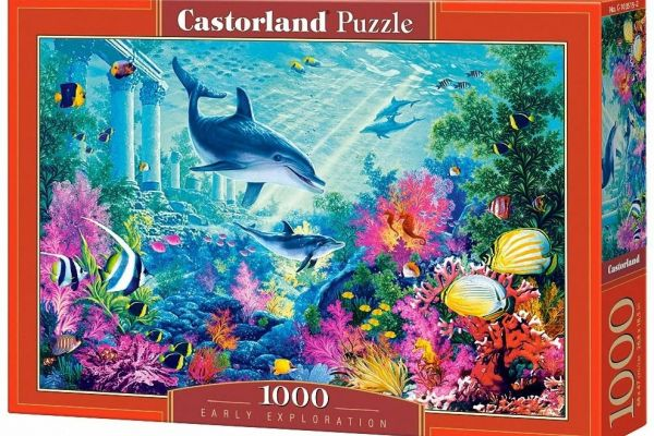 Castorland Puzzle C - 103515 – 2  Early Exploration 1000 Stück