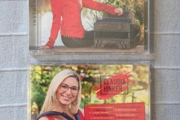 "CD ""Harmonika Granaten"" von Claudia Hinker!"