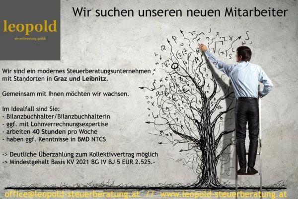 Bilanzbuchhalter 40h in Graz und/oder Leibnitz