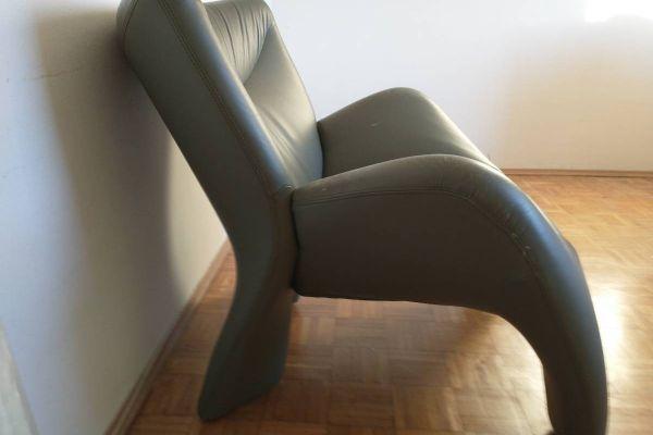 Designer-Sessel (Leolux) mit Gebrauchsspuren, EUR 60