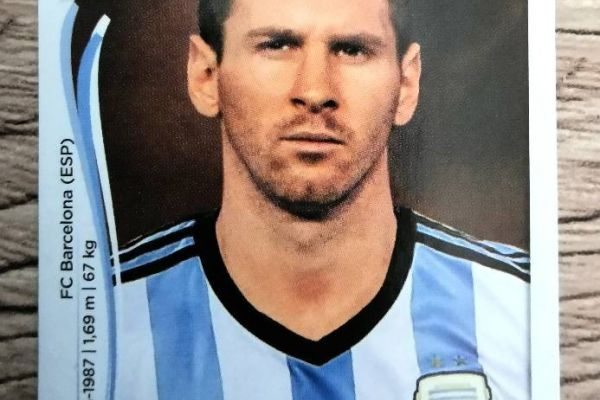 Paninisticker Lionel Messi - WM 2014 - Nr. 430