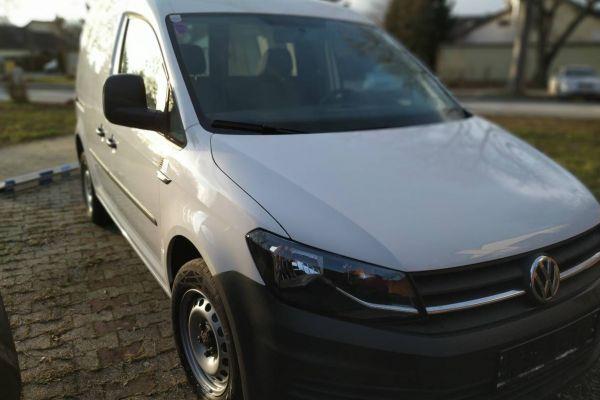 VW Caddy Caddy Entry TDI, nur 2500 km, 75 PS (55 kW) Eur 15.800