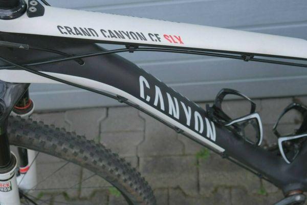 Canyon MTB XF SLX 9.9 Carbonrahmen