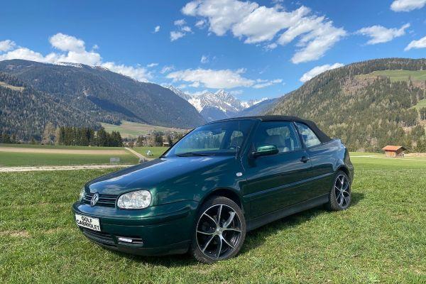 GOLF Cabriolet Racing-Green, Vollleder, Alufelgen