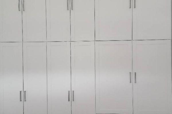IKEA Schrankwand Platsa Korpus mit Sannidal Türen