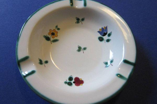 Gmundner Keramik - Aschenbecher - Streublumen Design