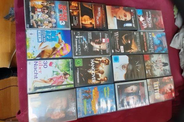 Dvd Filme und Blu Ray Discs