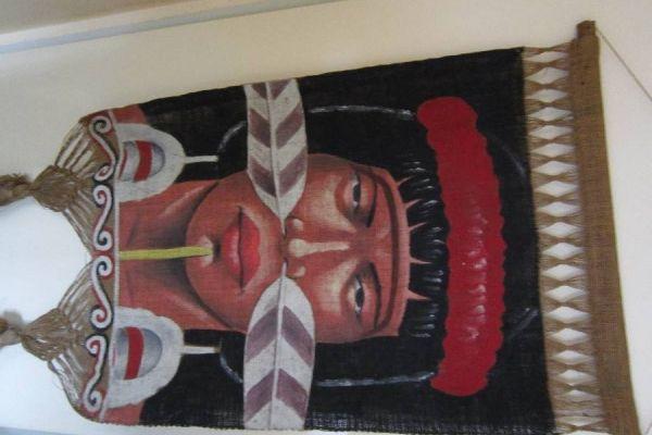 Altes Bild aus Papua Neuguinea - Rarität - siehe Foto