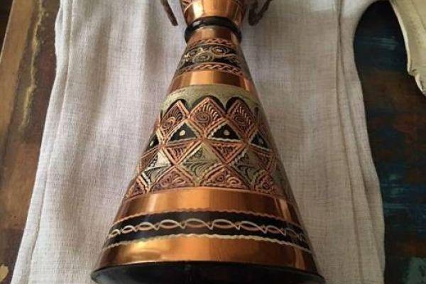 Sehr schöne Vase aus Kupfer
