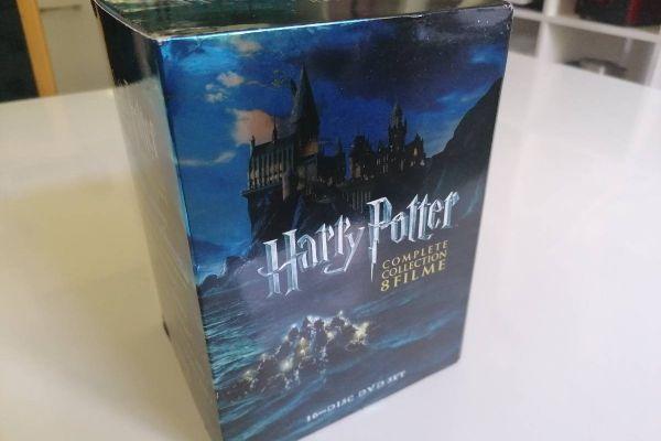 DVDs Harry Potter komplett