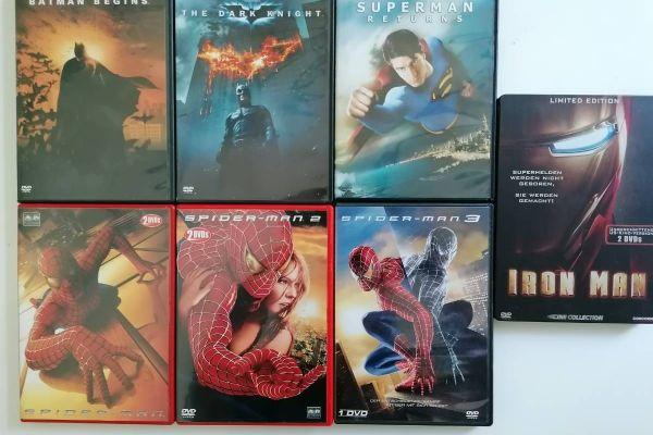 """DVD-Sammlung """"Superhelden"""""""