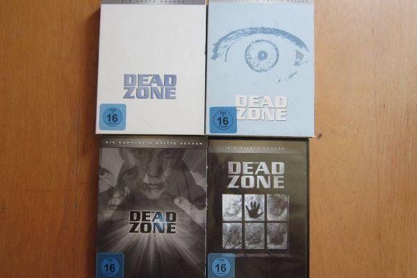 The Dead Zone - Staffel 1+2+3+4 - Dvd Boxen
