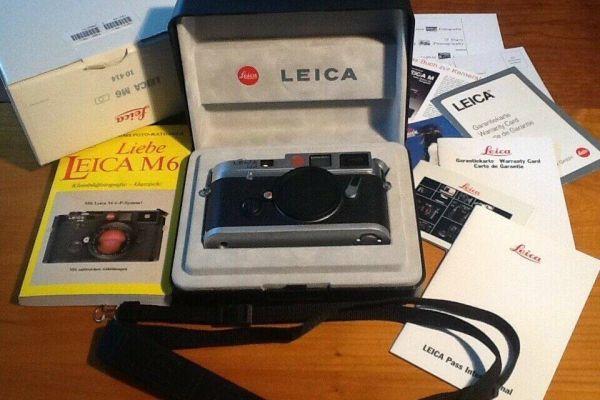 Leica M6 body im Originalkarton