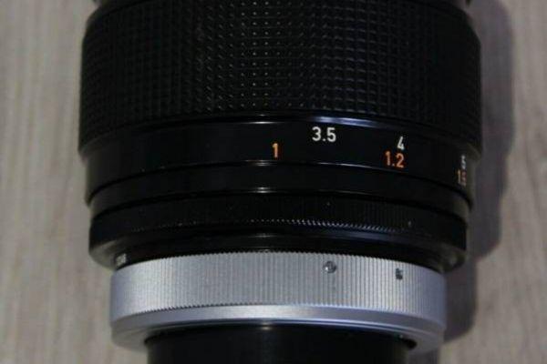 Canon Lens FD 85mm 1:1.2 S.S.C. ASPHERICAL MINT