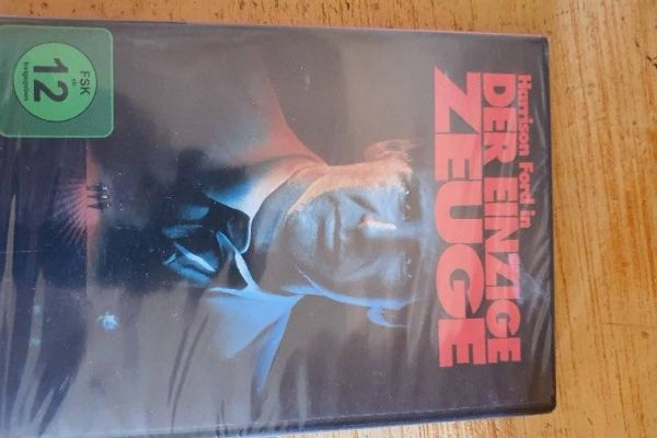 """DVD """"Der einzige Zeuge"""" mit Harrison Ford - Original"""