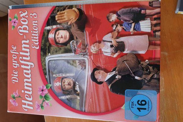 Die große Heimatfilm-Box 3 - 12er Schuber