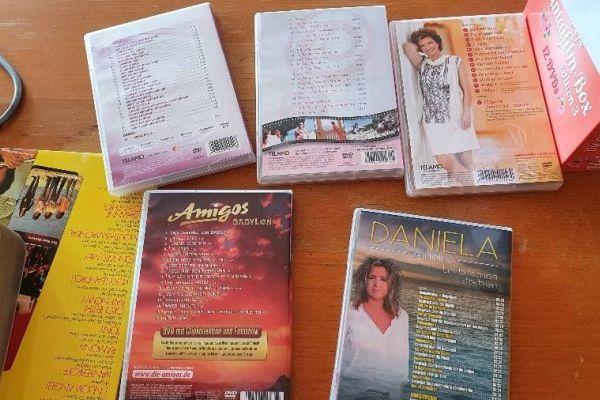 DVD Sammlung Amigos, Andreas Jürgens, Monika Martin, Daniela Alfinito