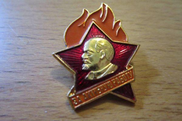 Sowjetisches Pionierabzeichen - Pin - Lenin Symbol - UdSSR