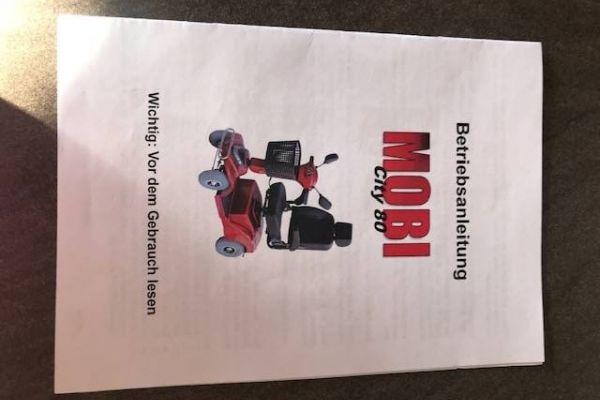 Mobi City 80 - Behindertenfahrzeug