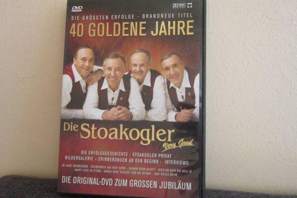 40 Goldene Jahre  - Die Stoakogler - Dvd