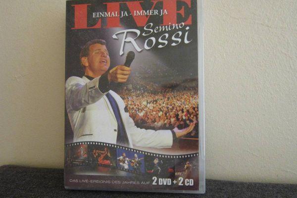 Semino Rossi - Live - Einmal Ja - Immer ja - 2 Dvd + 2 CD