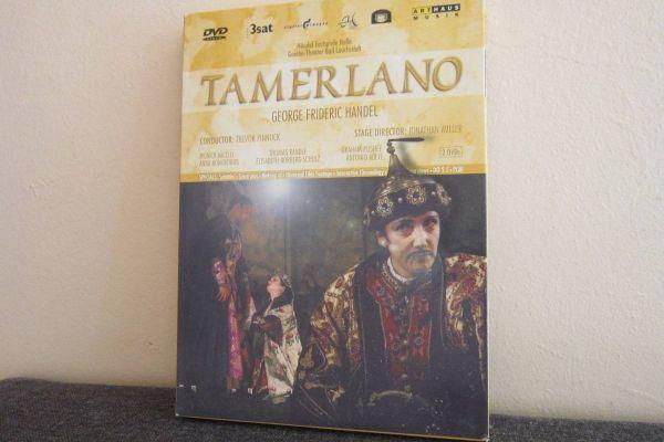 Tamerlano - Georg Friedrich Händel - 2 Dvd Set
