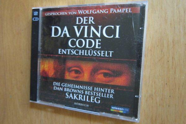 Der Davinci Code - Dan Brown -  Hörbuch -  2 Cd´s