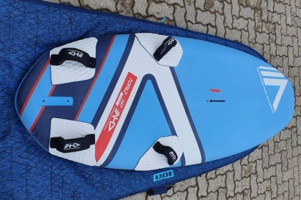 Windsurfboard 2021 AHD Topaz 147 und Foil