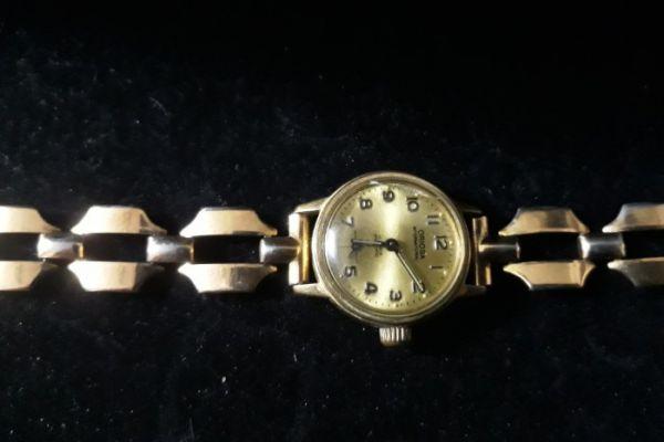 alte Damenarmbanduhr der Marke Oriosa