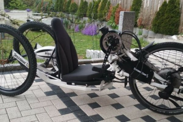 Speedbike Comp CC Ebike Handbike Praschberger