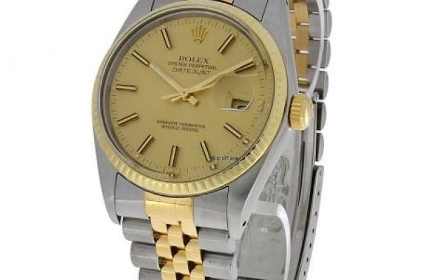 Rolex 31mm Oyster Perpetual Datejust Gold/ Edelsta