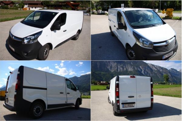Opel Vivaro Kasten €14.400 SERVICE GEMACHT40050km