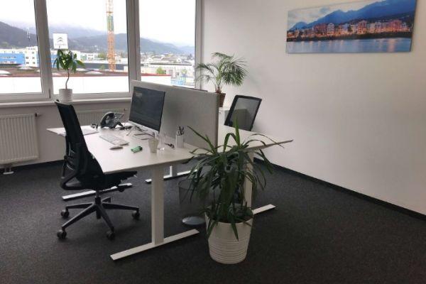 Helles 19m2 Büro in Innsbruck Roßau (All-in-Preis)