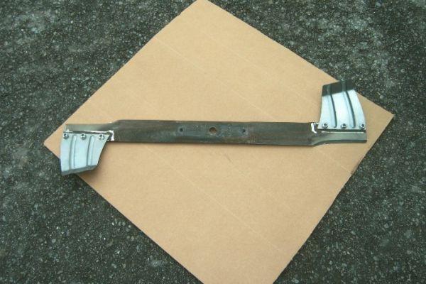 Rasentraktor Messer