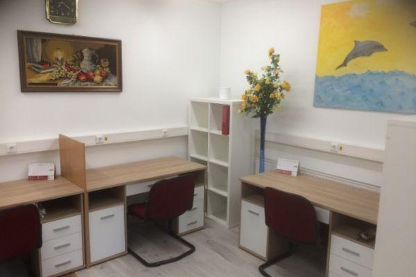 Vermiete 26 m2 großes Büro und 30 m2 Lagerraum