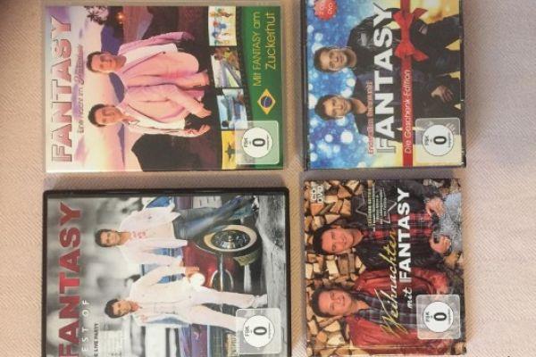 Fantasy-CD und DVD-Sammlung