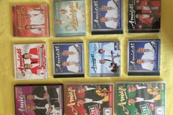 Amigos-CD und DVD-Sammlung